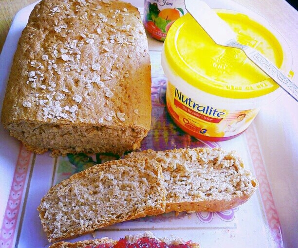 Oats Flax Seed Wholewheat Bread