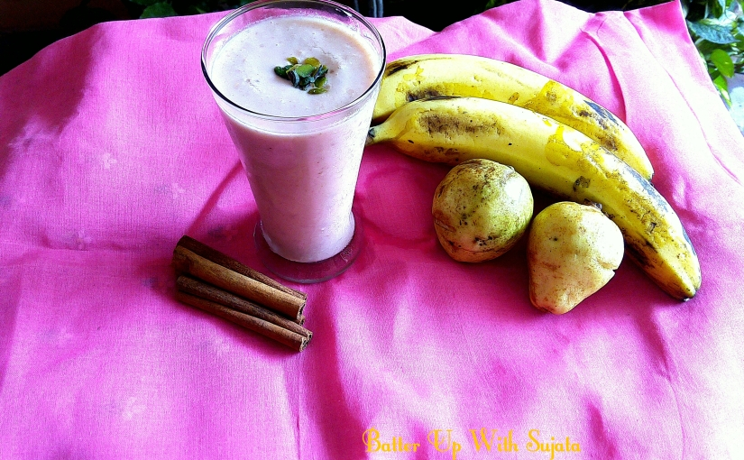 Guava Banana Smoothie
