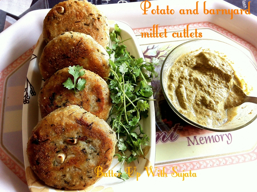 Potato And Barnyard Millet Cutlets