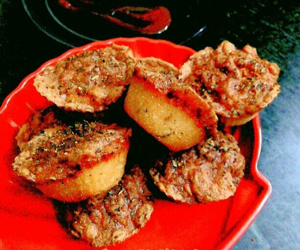 Cheesy Savoury Muffins