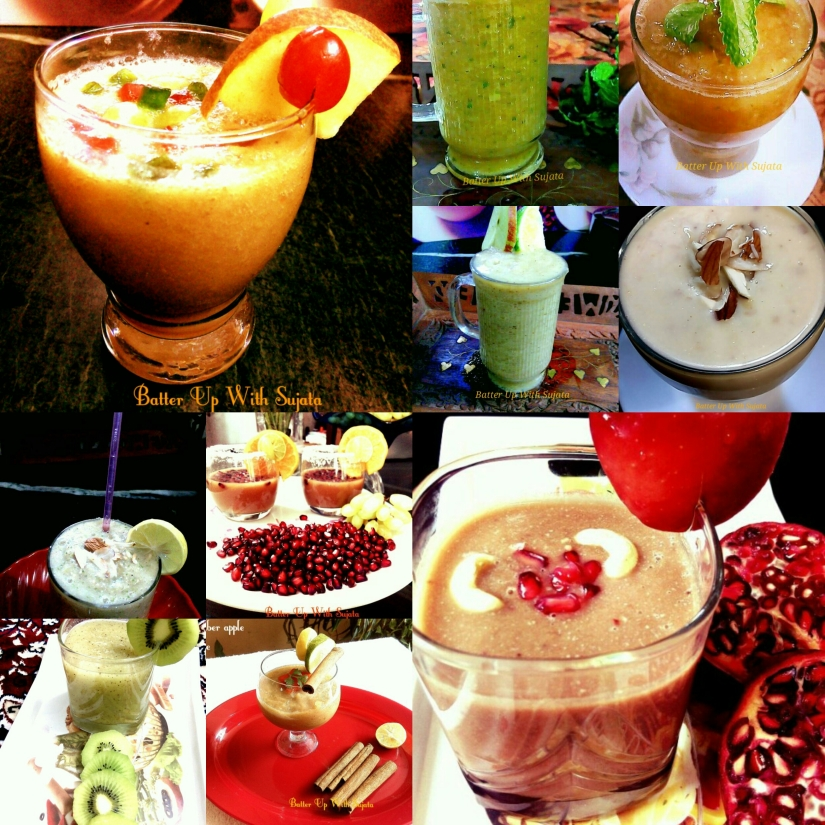 Collection Of Smoothies
