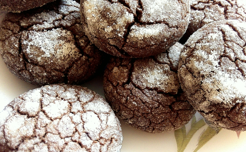 Finger Millet Or Ragi Chocolate Crinkle Cookies