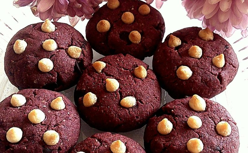 Red Velvet Choco Chips Cookies