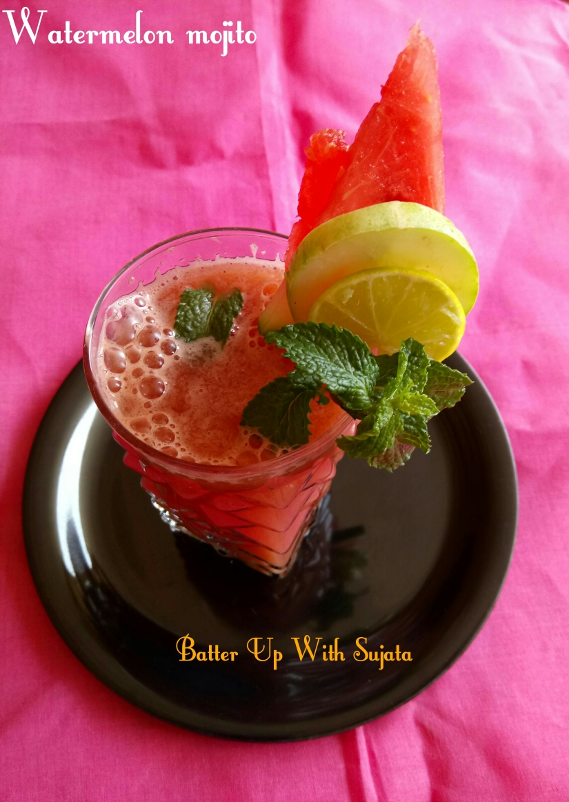 Virgin Watermelon Mojito