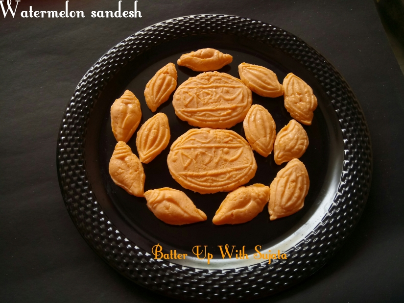 Watermelon Sandesh