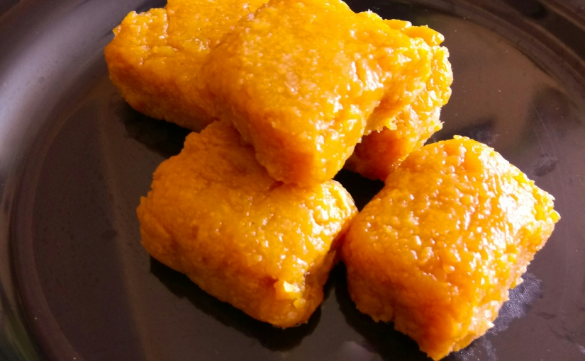 Mango Litchi Fudge Or Burfi