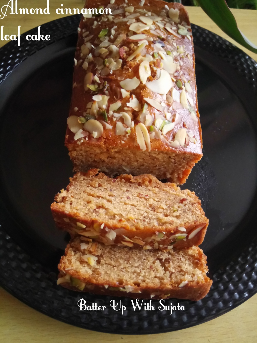 Almond Cinnamon Loaf Cake