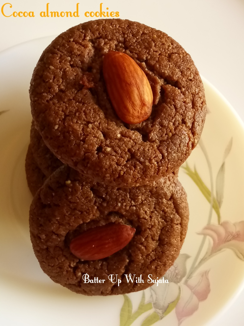 Cocoa Almond Cookies