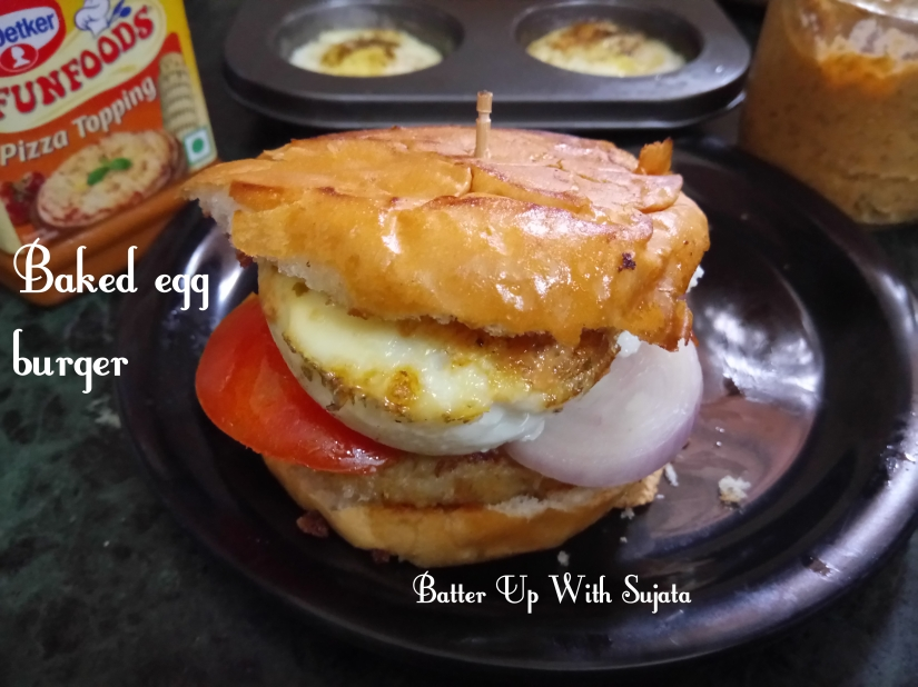 Baked Egg Burger