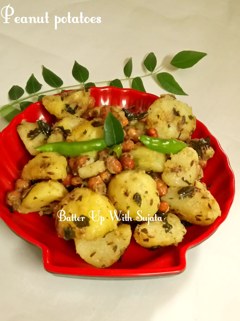 Peanut Potatoes / Fasting recipe
