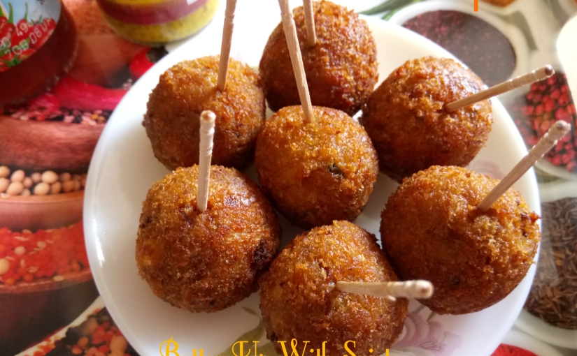Paneer Or Cottage Cheese Croquettes / Finger Food / Fritters