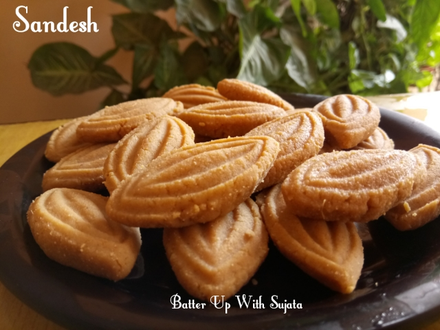 Coconut Sandesh With Date Palm Jaggery Or Narkol Sondesh
