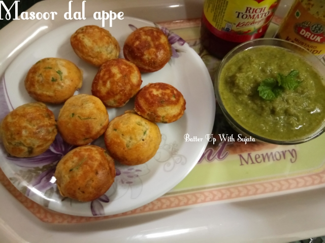 Masoor Dal Or Red Lentil Appe