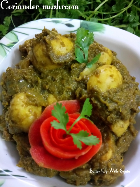 Dhania Or Cilantro/Coriander Mushroom