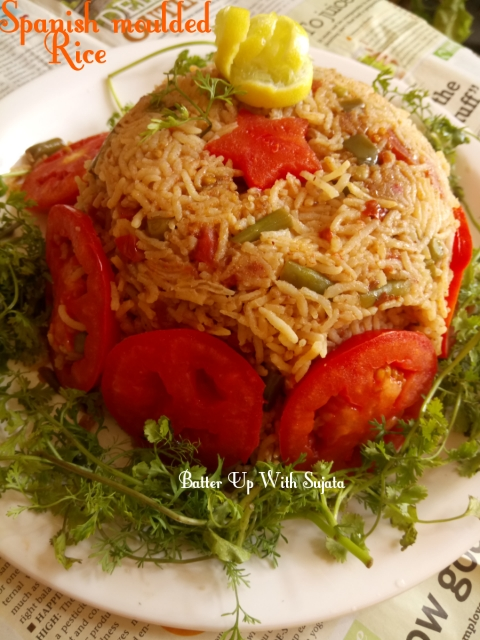 Spanish Moulded Rice