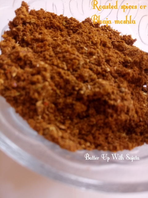 Roasted Mixed Spice Powder Or Bhaja Moshla
