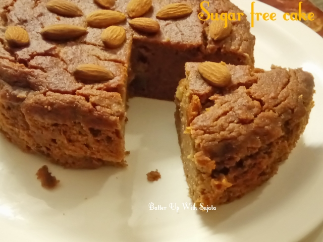 Sugar Free Carrot Cake / Diabetic Friendly Cake