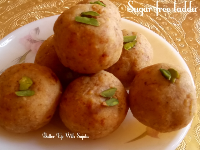 Sugar Free Coconut Raisins Almond laddu / Diabetic Friendly Sweet