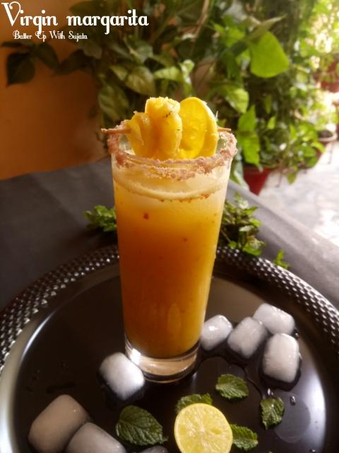 Spicy Pineapple VirginMargarita