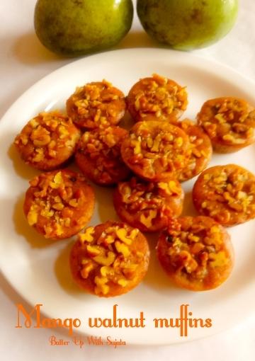 Mango Walnut Choco ChipsMuffins