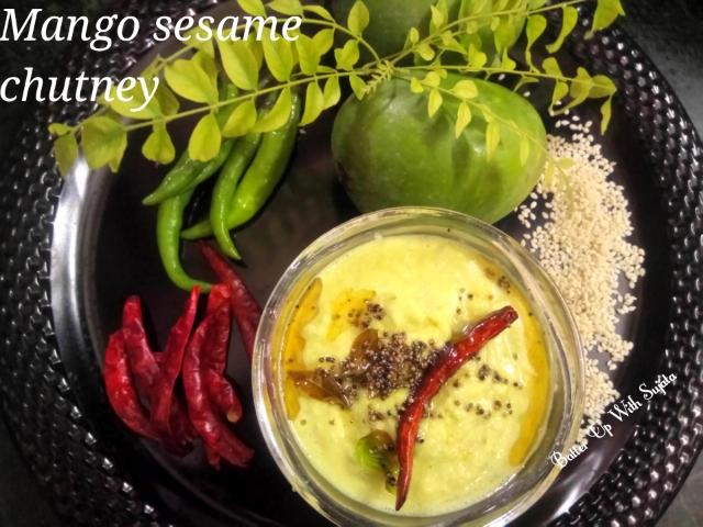 Mango Sesame Chutney
