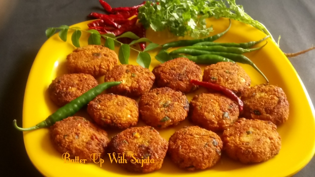 Parippu Vada Or Lentil fritters