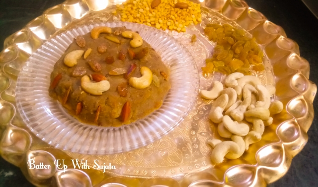 Hayagriva Or Hayagreeva Maddi Or Chana Dal Halwa