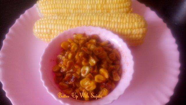 Corn Stir Fry