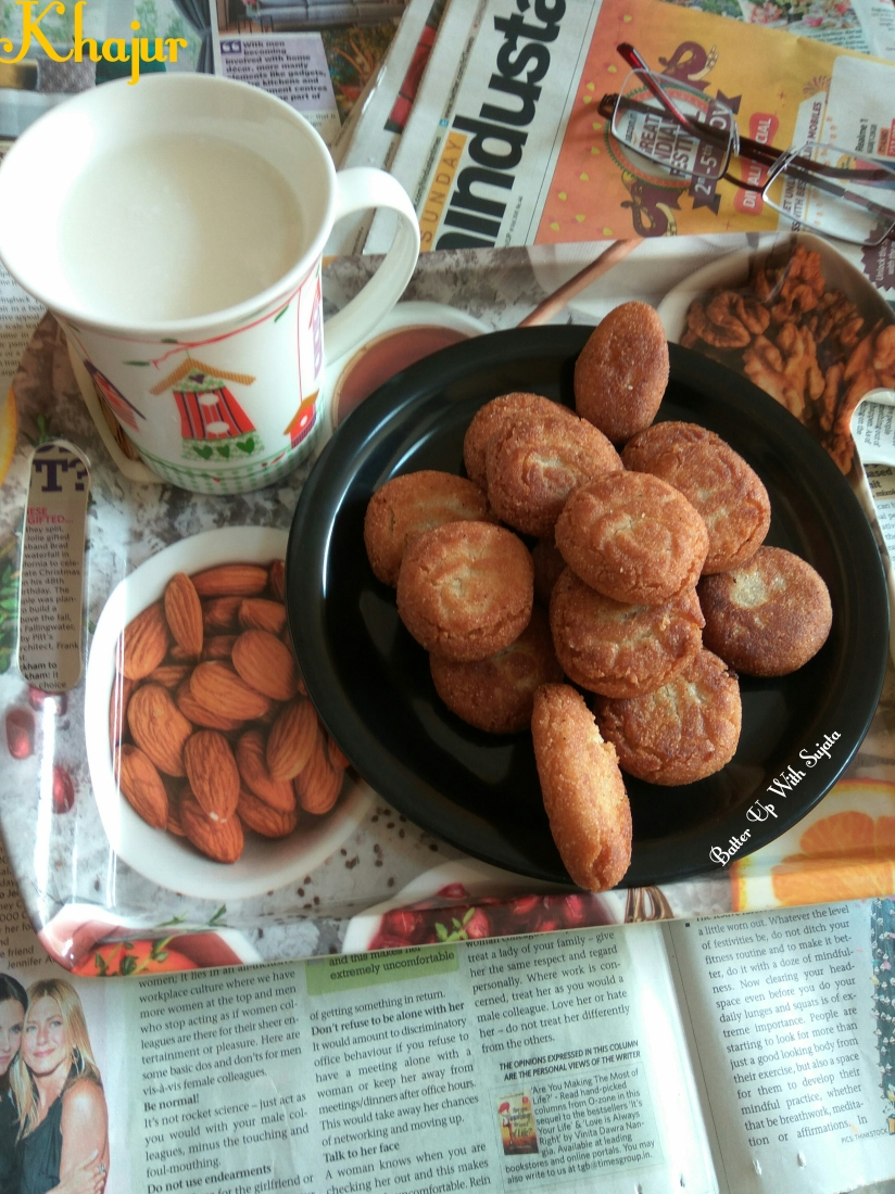 Khajur Or Fried Biscuits