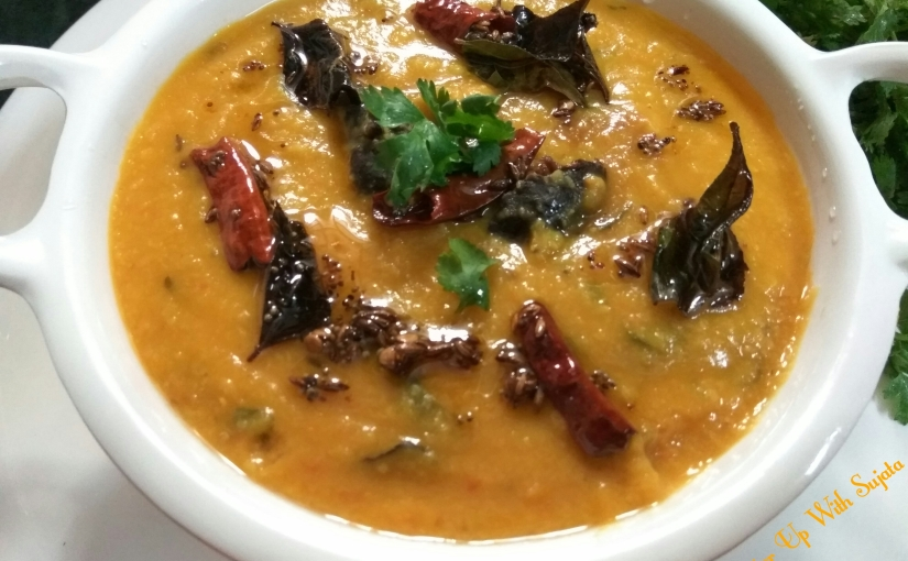 Goan Dal Curry With Coconut And Kokum