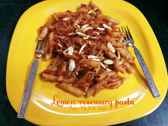 Lemon Rosemary Pasta