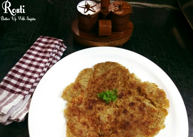 Rosti Or Swiss Potato Pancake