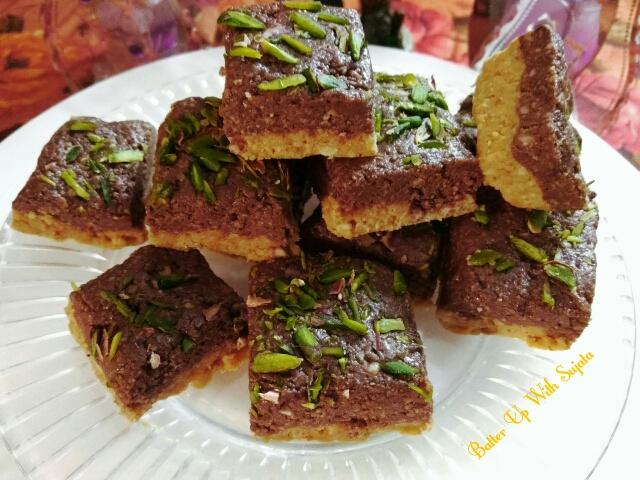 Chocolate Cardamom Fudge OrBarfi