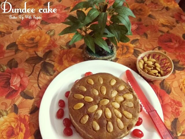 Dundee Cake / EgglessCake