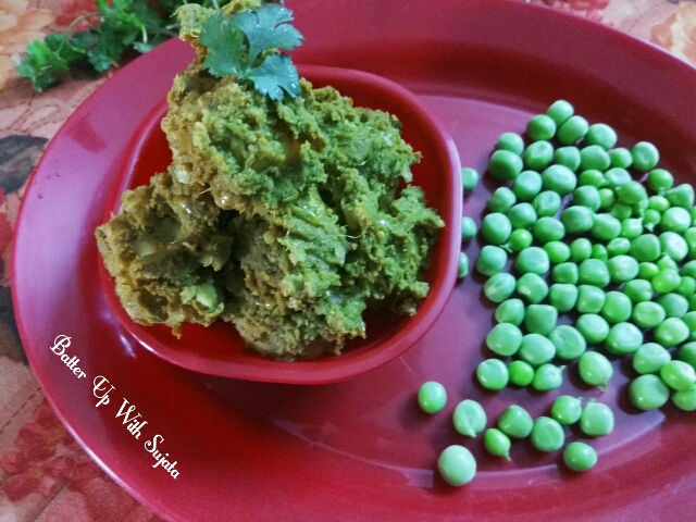 Potato With Green Peas