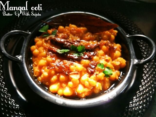 Mangal Ooti Or Manipuri Dry Peas Curry