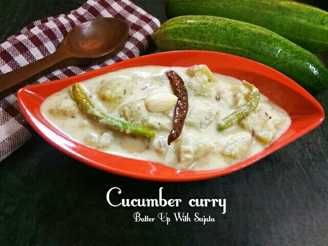 Cucumber Curry / Fasting Recipe