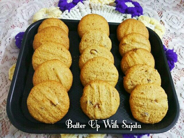 Oats Almond Cranberry Cornmeal Cookies / Gluten FreeCookies
