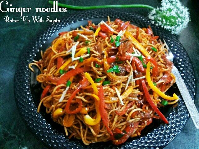 Ginger Noodles