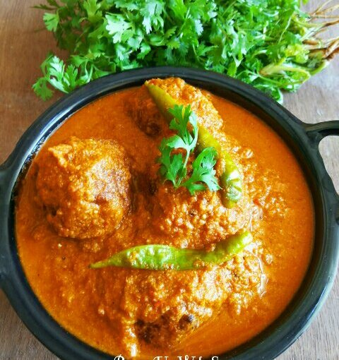 Kathal Paneer Kofta Curry Or Raw Jackfruit And Cottage Cheese Balls In Gravy