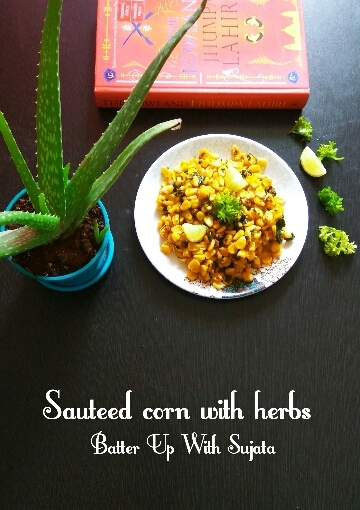 Sauteed Corn With Parsley And Rosemary