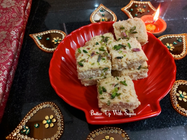 Coconut Barfi Or Fudge