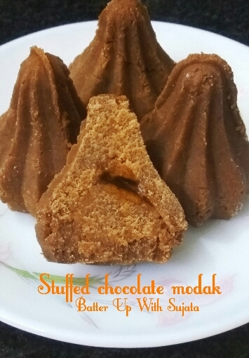 Stuffed Chocolate Modak