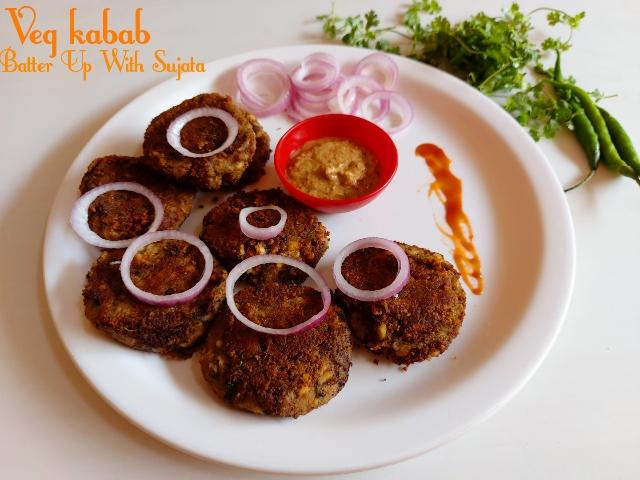 Green Gram Or Sabut Moong Kabab/VegKabab