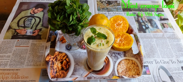 Mint Orange Lassi