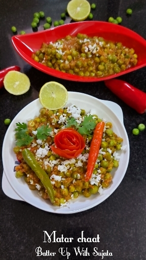 Matar Chaat Or Green Peas Curry