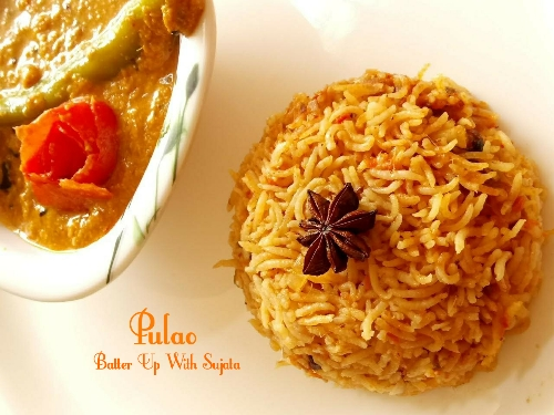 Easy Pulao Or One Pot Rice