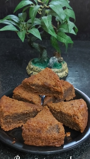 Oats Whole Wheat Bournvita Cake/ No Butter Cake/ Jaggery Cake/ Eggless Cake