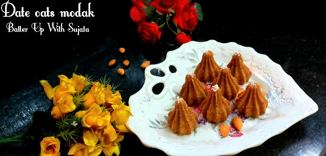 Oats Date Dry Fruits Modak / Sugar Free Modak