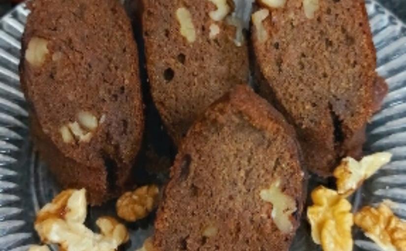 Date Walnut Chocolate Cake/Gluten FreeCake